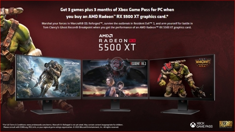 Retailer leaks AMD's next Radeon Games Bundle - Includes Resident Evil 3
