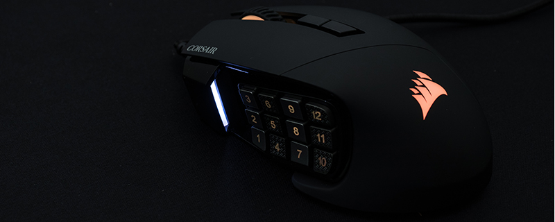 Corsair Scimitar RGB Elite MOBA Mouse Review