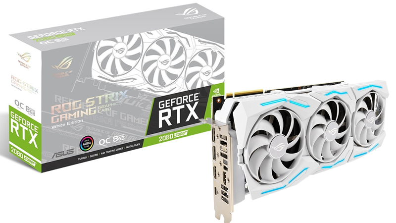 ASUS' ROG Strix RTX 200 SUPER WHITE EDITION has been outed