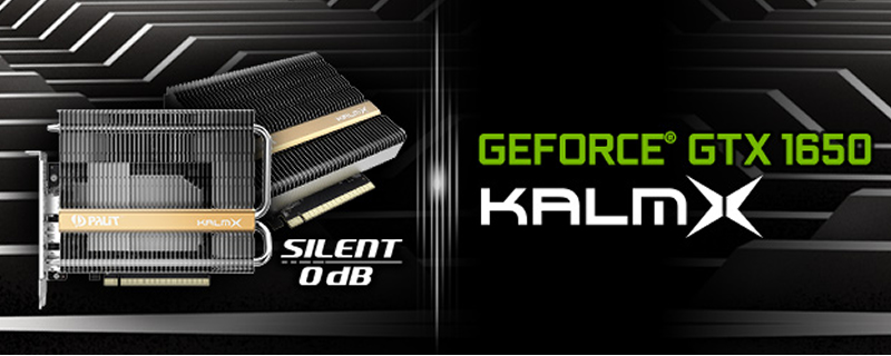 Look ma, no fans! Palit releases its passively cooled GTX 1650 KalmX