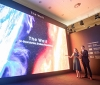 "Samsung wows ISE 2020 attendees with their 583-inch ""The Wall"" microLED display"