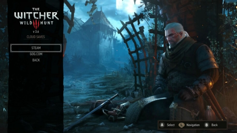 The Witcher 3's Switch version has gained cross-save support with PC
