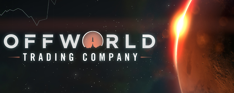 Offworld Trading Company and GoNNER are now available for free on the Epic Games Store