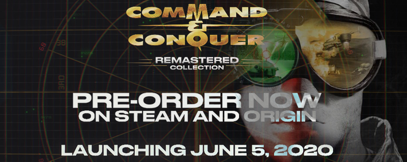 Command and Conquer: Remastered Collection is releasing this June