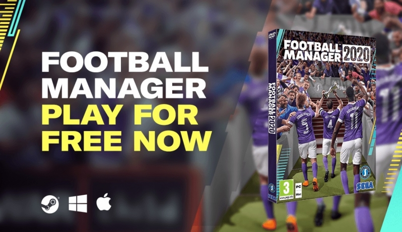 Football Manager 2020 will be available to play for free for the next week