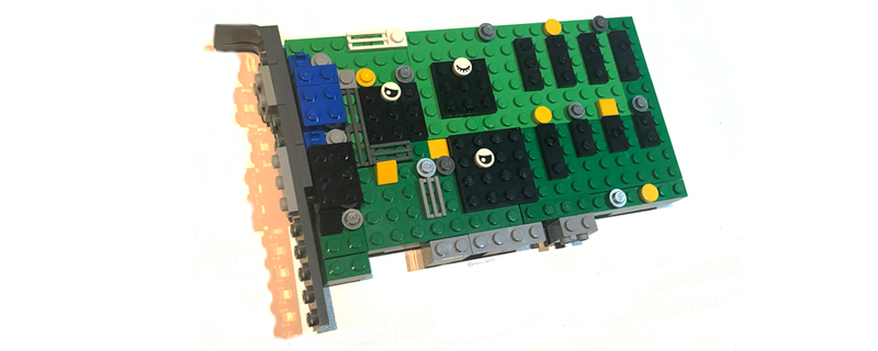 Blocky Graphics? This Lego Creator has Built a 3dfx Voodoo | OC3D News