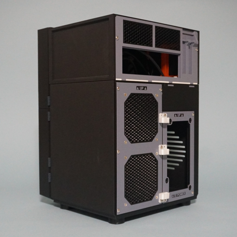 This 3D Printed Case brings DIY NAS building to a new level