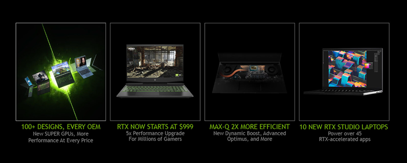 Nvidia launches its new RTX Super series of mobile graphics cards