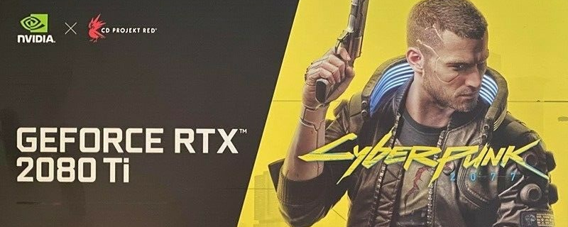 Nvidia's limited edition RTX 2080 Ti Cyberpunk 2077 Edition has sold for £5,000 in the UK