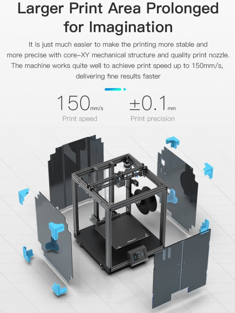 Creality's Ender 6 3D Printer promises a 3x increase in printing speed