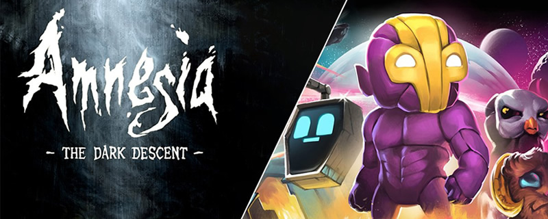 Amnesia The Dark Descent and Crashlands are currently available for free on the Epic Games Store