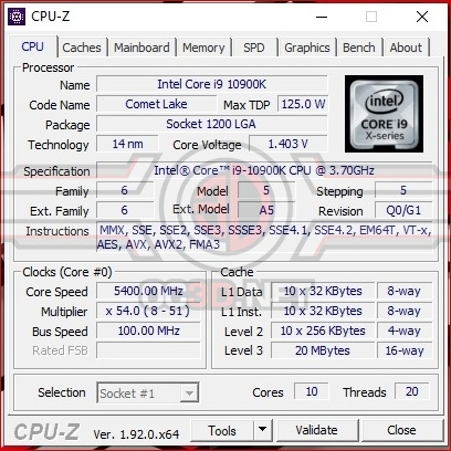 Intel Core i5-10600K and Core i9-10900K Review