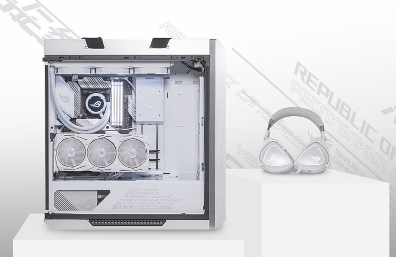 ASUS Launches their ROG Strix Helios White Edition Chassis for Showcase Builds