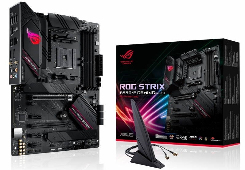 ASUS launches its range of AMD B550 motherboards - B550 has something for everyone