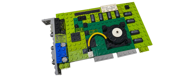 Blocky Graphics? This Lego Creator has Built Nvidia's Geforce 256
