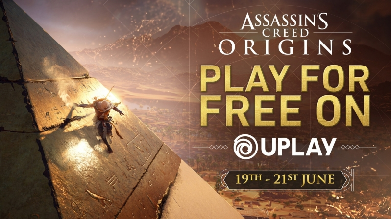 This weekend, Assassin's Creed Origins will be available to play for free