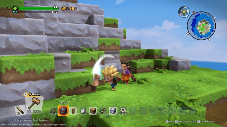 Dragon Quest Builders 2's PC version has been updated to remove Denuvo