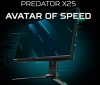 Acer's ultra-fast Predator X25 will bring 360Hz refresh rates to the masses