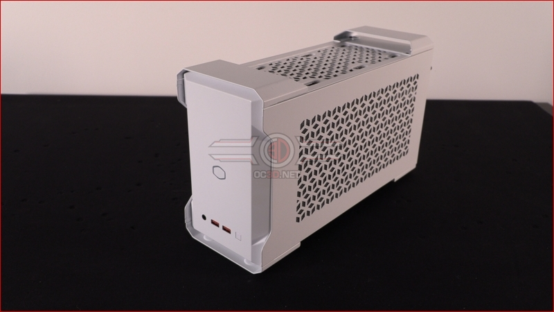 Intel NUC 9 ECE and Cooler Master MasterCase NC100 Review