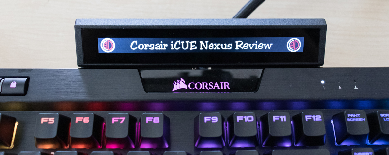Corsair iCUE Nexus Review