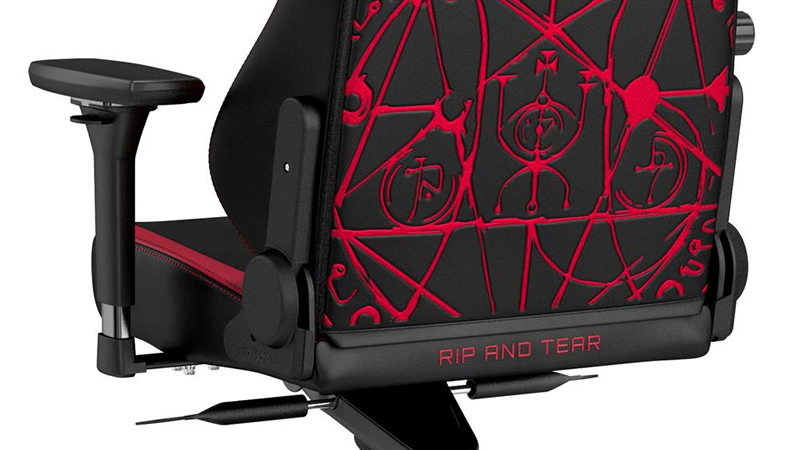 noblechairs releases its DOOM Edition HERO Gaming Chair