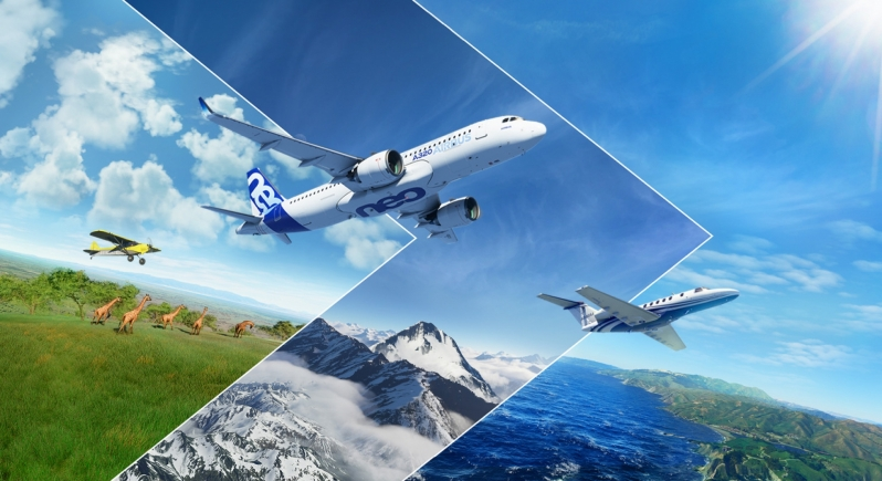 Microsoft Flight Simulator's latest trailer highlights the evolution of the series