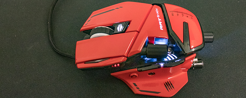 Mad Catz R.A.T 8+ Adv Gaming Mouse Review