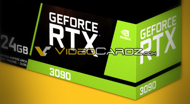 Nvidia RTX 3090 and RTX 3080 Specifications Leak