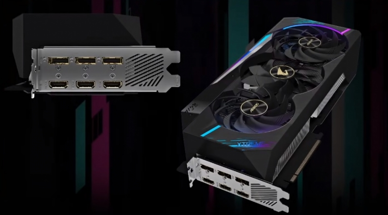 Gigabyte's Aorus RTX 3080 & 3090 Xtreme GPUs appear to be 4-slot monsters