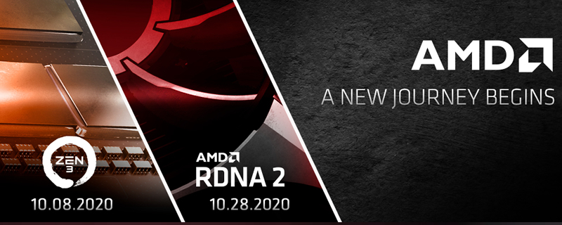 AMD plans to launch Zen 3 and RDNA2 this October at separate events