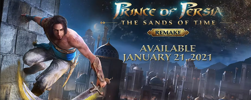 It's official, Ubisoft's remaking Prince of Persia: The Sands of Time