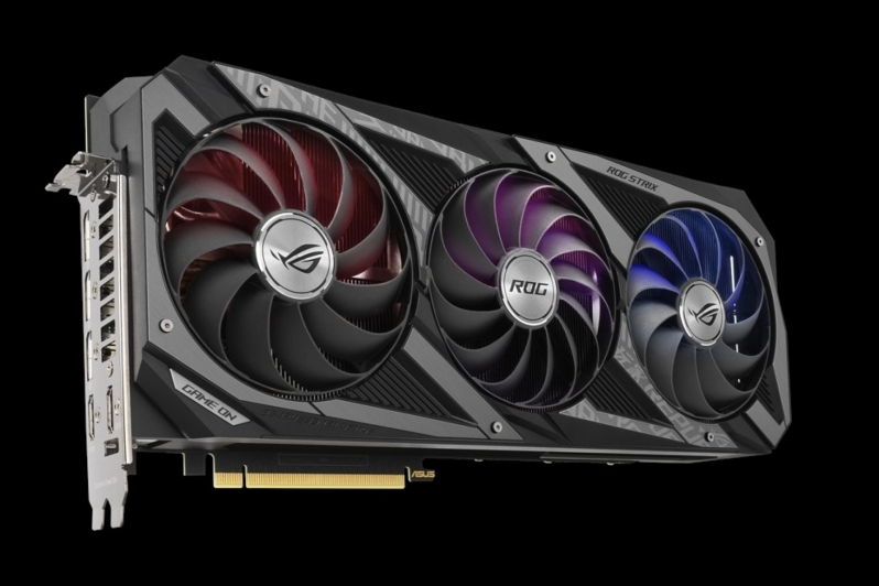 ASUS boasts ambitious Boost clocks with their ROG Strix RTX 3080 OC