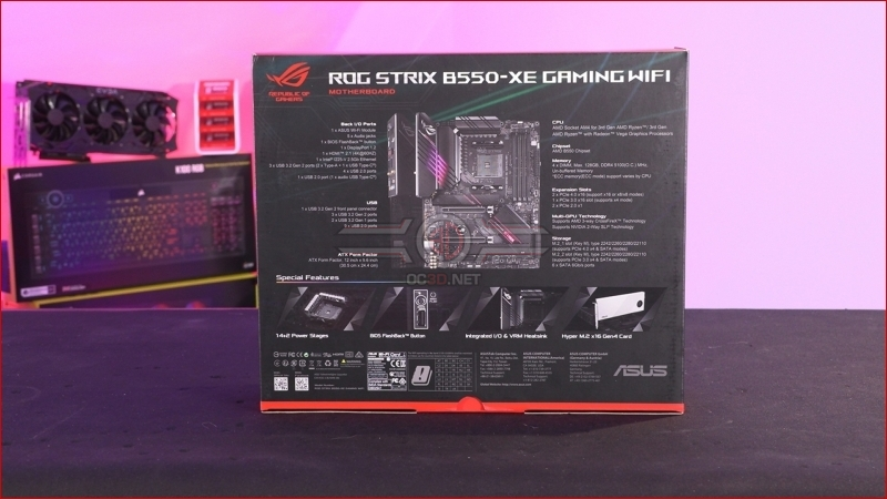 ASUS ROG Strix B550-XE Gaming WiFi Preview