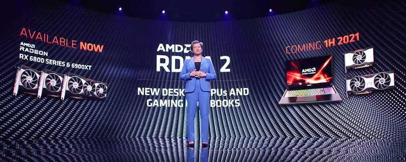 AMD teases Mid-Range RDNA 2 mobile and desktop GPUs - Launching in H1 2021