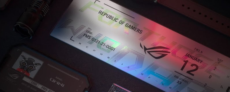 Watch ASUS's Republic of Gamers CES 2021 showcase here