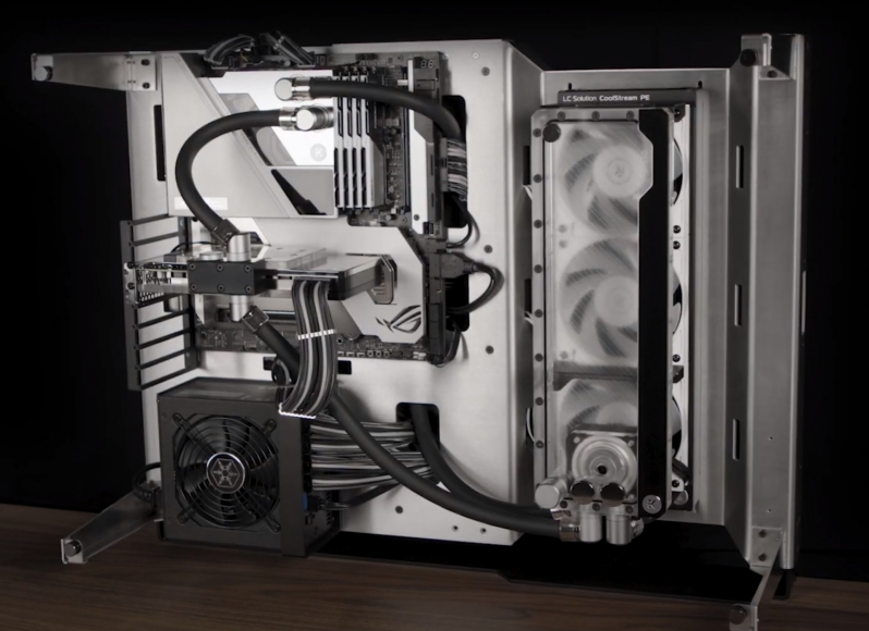 EK showcases a Active Backplate Cooling Solution at CES 2021 - Next Level Liquid Cooling