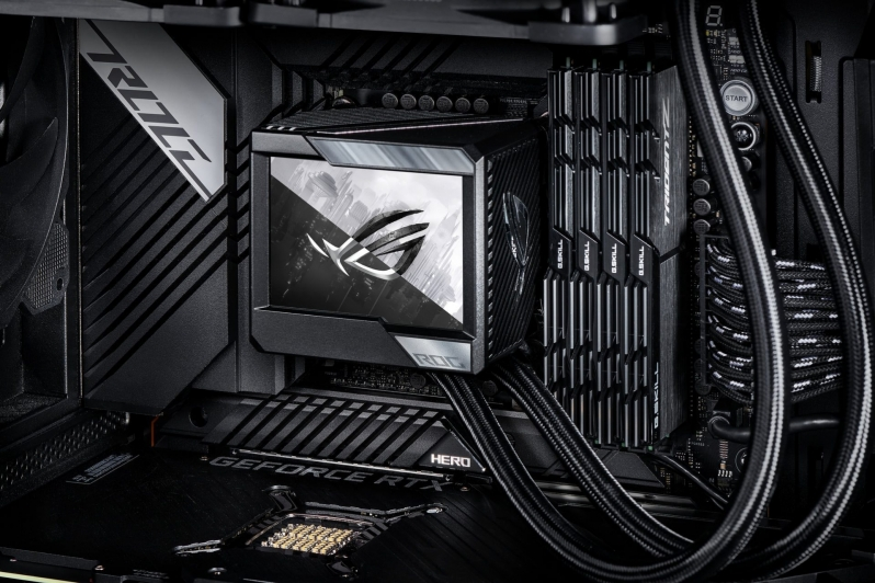 ASUS' ROG Ryujin II CLC Leaks Online - An AIO with a BIG screen