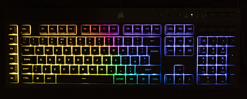 Corsair K55 RGB Pro XT Review