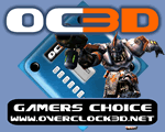 Overclock3D Gamers Choice Award