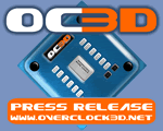 OC3D Official Press release logo