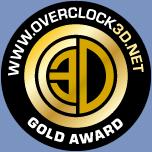 Overclok3d Gold Award
